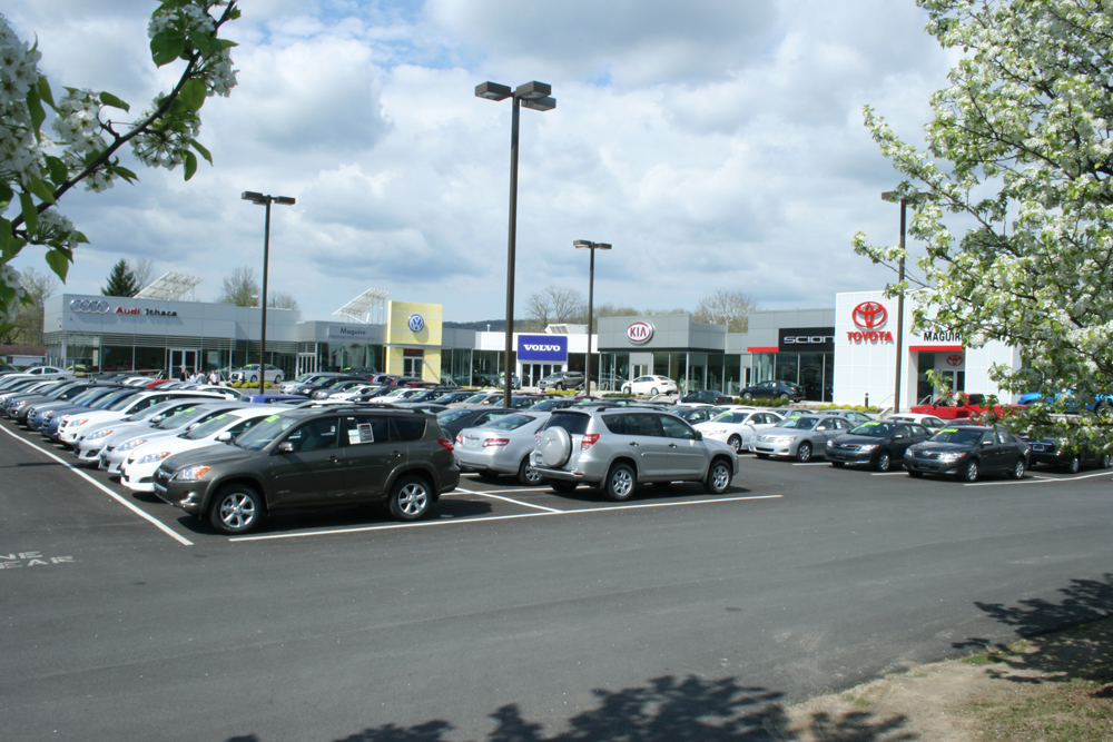 One way or another, Maguire aims to expand dealerships in Ithaca